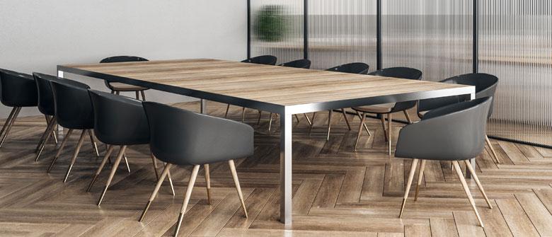 Tables de reunion
