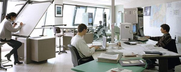 Travaux d'aménagement de bureaux